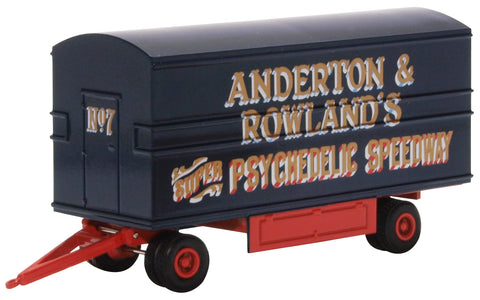 Oxford Diecast Dodgem Trailer Anderton & Rowlands