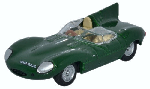 Oxford Diecast Jaguar D Type Green