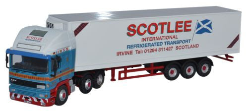 Oxford Diecast ERF EC Olympic 40ft Fridge Scotlee Transport - 1:76 Sca