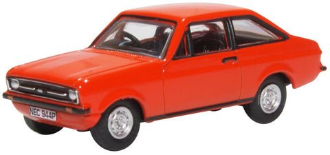 Oxford Diecast Ford Escort Mk2 Tango 1:76 Scale