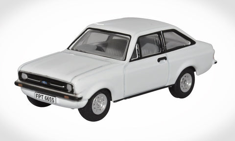 Ford Escort MK2 Oxford Diecast Diamond White 76ESC001
