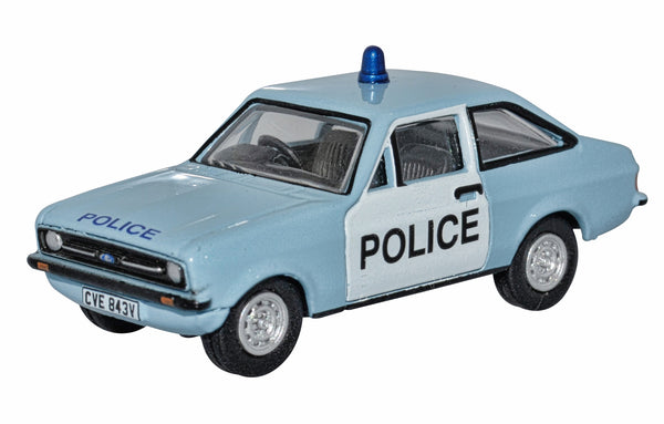 Oxford Diecast Police Ford Escort Mk2