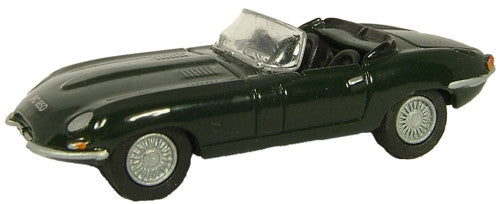 Oxford Diecast Jaguar E Type Racing Green - 1:76 Scale
