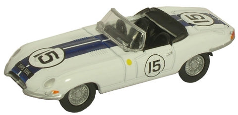 Oxford Diecast E Type Le Mans 1963 - 1:76 Scale