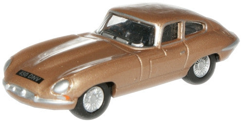 Oxford Diecast Opalescent Bronze  E Type - 1:76 Scale