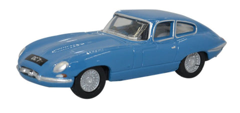 Oxford Diecast Jaguar E Type Coupe Bluebird Blue (Donald Campbell)