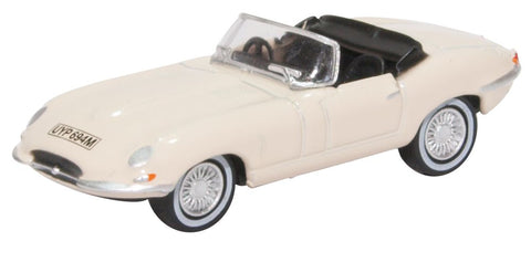 Oxford Diecast E Type Jaguar White