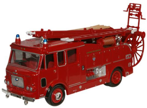 Oxford Diecast London Dennis F106 Side Pump - 1:76 Scale