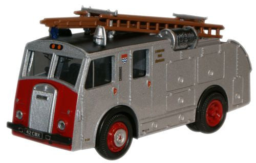 Oxford Diecast London Fire Dennis F8 - 1:76 Scale