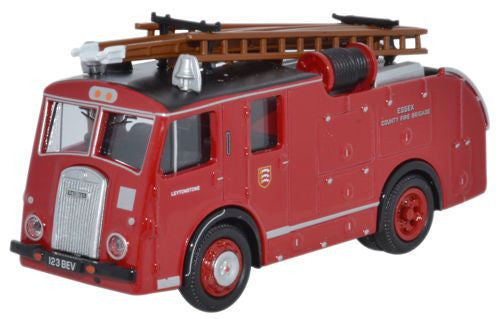 Oxford Diecast Dennis F8 Essex Fire Brigade - 1:76 Scale