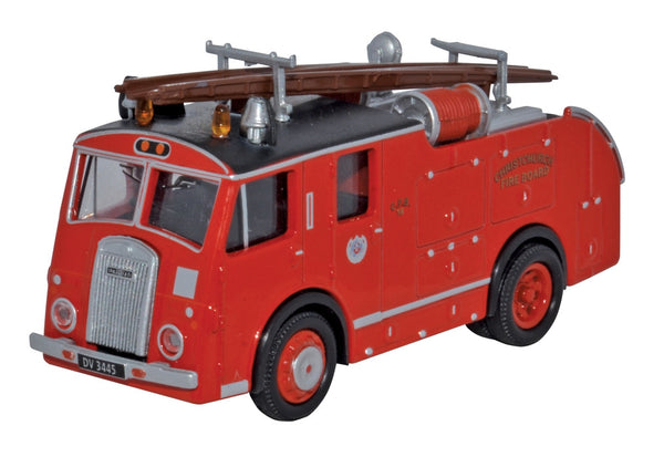 Oxford Diecast Dennis F8 New Zealand Fire Service - 1:76 Scale