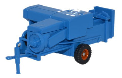 Oxford Diecast Baler Blue - 1:76 Scale