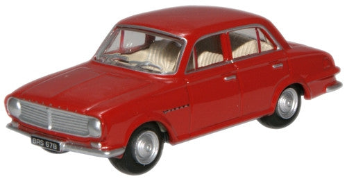 Oxford Diecast Carnival Red Vauxhall FB Victor - 1:76 Scale