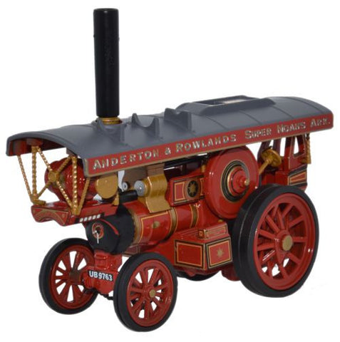 Oxford Diecast Fowler B6 Showmans Locomotive The Lion Anderton & Rowla