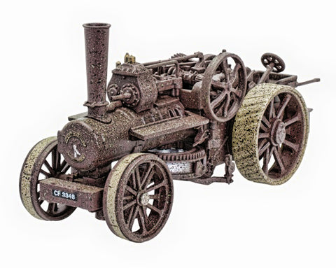 Oxford Diecast Fowler BB1 16NHP Ploughing Engine No.15145  Rusty 1:76 Scale GDSF2016