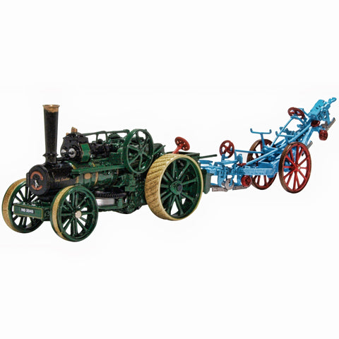 Ploughing Engine15334 Lady Caroline and Plough 1:76 Scale GDSF2019