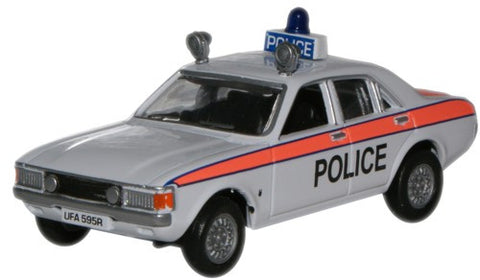 Oxford Diecast Ford Consul Staffordshire Police - 1:76 Scale