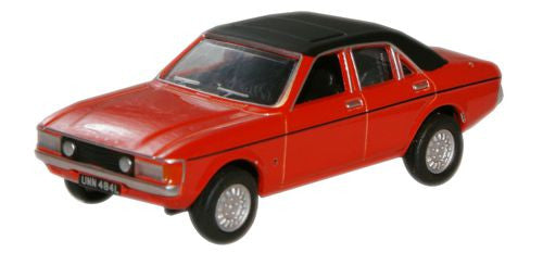 Oxford Diecast Sebring Red Ford Consul - 1:76 Scale