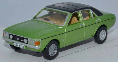 Oxford Diecast Ford Consul Granada Onyx Green - 1:76 Scale