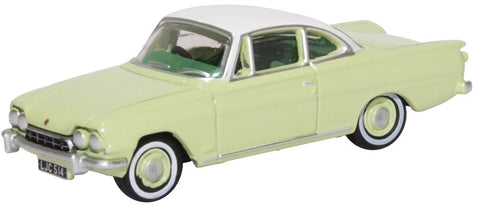 Oxford Diecast Ford Consul Capri Lime Green/ermine White