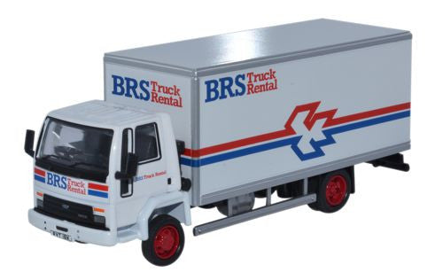 Oxford Diecast Ford Cargo Box Van BRS  - 1:76 Scale
