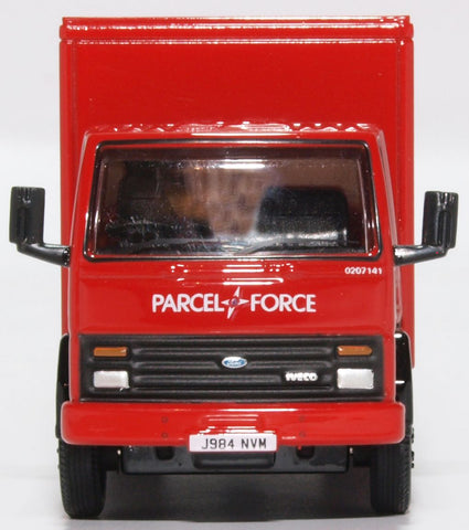 Oxford Diecast Ford Cargo Box Van Parcelforce