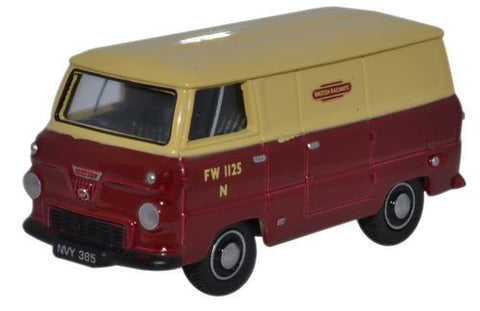 Oxford Diecast Ford 400E Van British Rail - 1:76 Scale