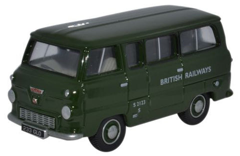 Oxford Diecast Ford 400E Minibus British Railways - 1:76 Scale