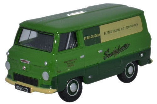 Oxford Diecast Ford 400E Van Southdown - 1:76 Scale