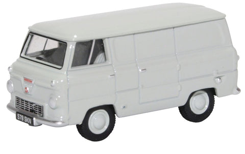Oxford Diecast Ford 400E Van Cargo Grey