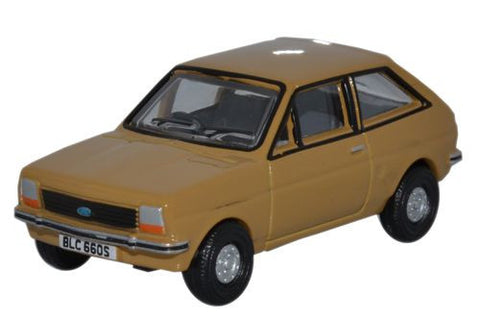 Oxford Diecast Ford Fiesta MkI Nevada Beige - 1:76 Scale