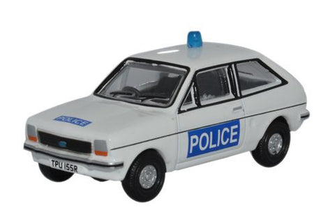Oxford Diecast Ford Fiesta MkI Essex Police - 1:76 Scale