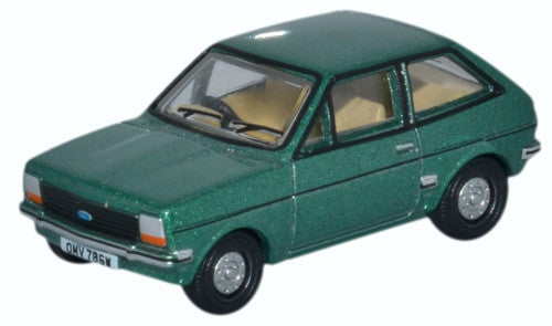 Oxford Diecast Ford Fiesta Mk1 Jade Green