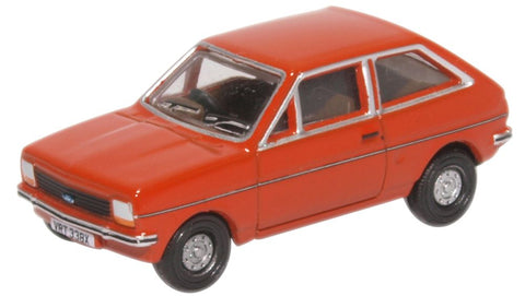 Oxford Diecast Ford Fiesta MK1 Terracotta
