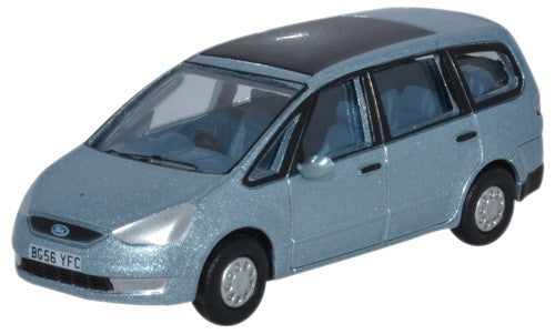 Oxford Diecast Ford Galaxy Ice Blue - 1:76 Scale