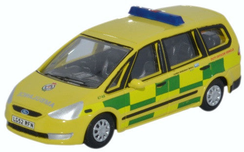 Oxford Diecast Ford Galaxy London Ambulance Service 1:76 Scale