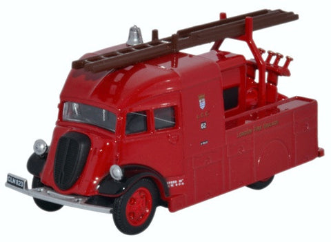 Oxford Diecast Fordson Heavy Pump Unit London Fire Brigade