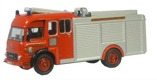 Oxford Diecast Mid & West Wales Fire TK - 1:76 Scale