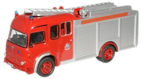 Oxford Diecast N. Ireland TK Fire Engine - 1:76 Scale