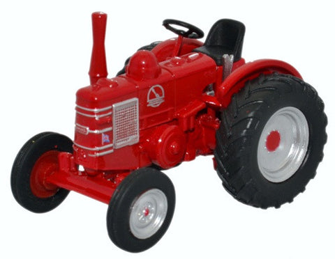 Oxford Diecast Field Marshall Tractor Red  1:76 Scale