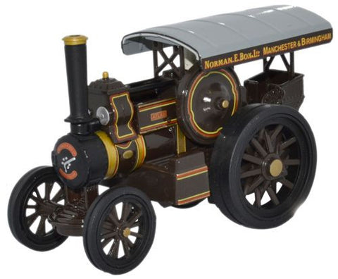 Oxford Diecast Fowler B6 Road Locomotive Atlas Norman E Box - 1:76 Sca
