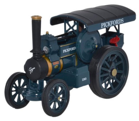 Oxford Diecast Fowler B6 Road Locomotive Pickfords Titan - 1:76 Scale