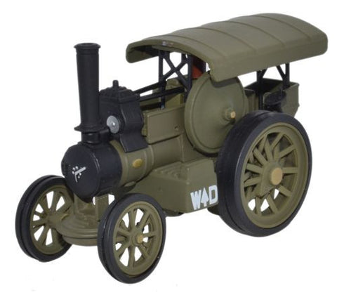 Oxford Diecast Fowler B6 Locomotive WW1 France - 1:76 Scale