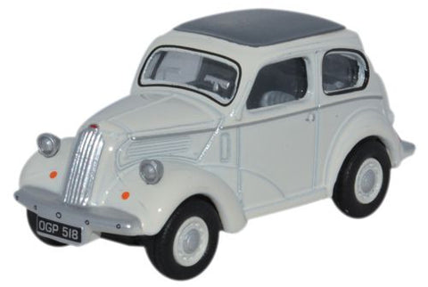 Oxford Diecast Ford Popular 103E Ermine White - 1:76 Scale