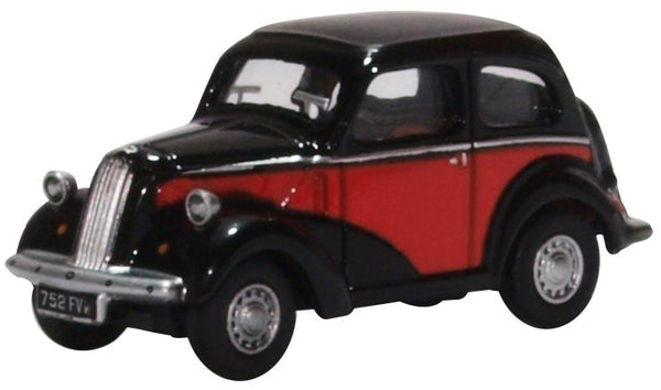 Oxford Diecast Ford Popular Red/black