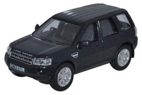Oxford Diecast Land Rover Freelander Santorini Black - 1:76 Scale