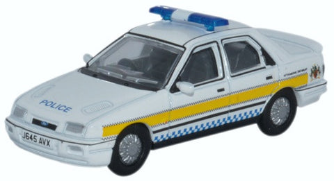Oxford Diecast Ford Sierra Sapphire Nottinghamshire Police - 1:76 Scal