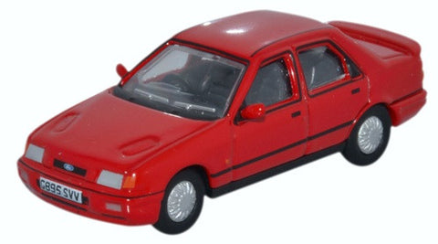 Oxford Diecast Ford Sierra Sapphire Radiant Red