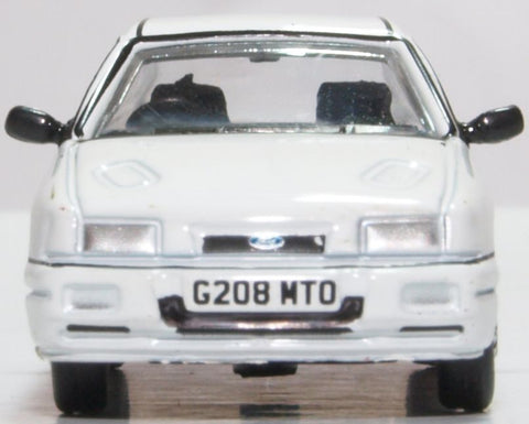 Oxford Diecast Ford Sierra Sapphire Diamond White