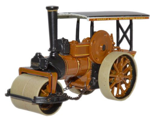 Oxford Diecast Lord Jellicoe Fowler Steam Roller - 1:76 Scale